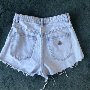 Princess Polly Shorts - Princess Polly Abrand Jeans Shorts Size 24